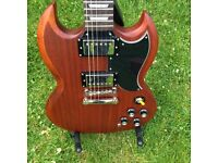 Gibson Epiphone SG 400 Worn Brown with Case