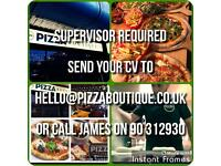 PIZZA BOUTIQUE BELFAST NOW RECRUITING
