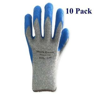 Tough Work Gloves - Sold By 10 Pack, Case and Pallet - Up to 34% off in bulk