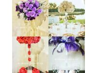 !!!Wedding and Event Decorations!!!! Centrepiece Hire Chair Covers Only 70p!!!