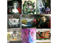 Mural artist for Graffiti ,Airbrush and Workshops