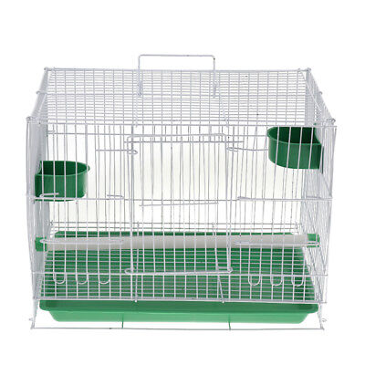Large Bird Cage with Stand&Tray&Bowls FOR Parrot Chinchilla Macaw Cockatiel