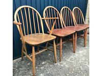 Ercol Windsor Dining chairs