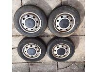 """12"""" Austin Rover, Mini Metro, 4x4 Trailer Wheels And Tyres"""