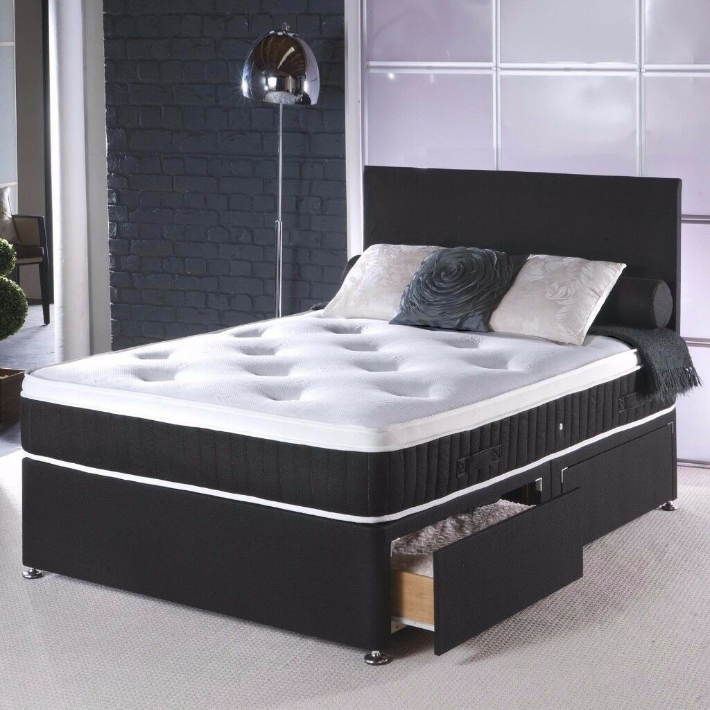 Very Low Bed Part - 23: VERY LOW PRICE AND EXTREME GOOD QUALITY DIVAN DOUBLE BED WITH ORTHOPAEDIC  MATTRESS