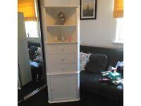 Lovely corner storage unit