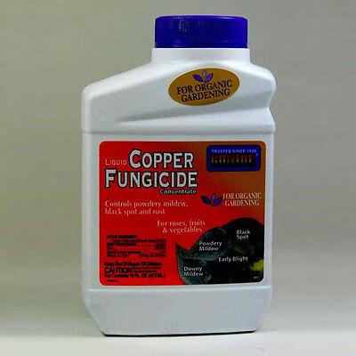 Bonide Copper Fungicide 16 Oz Bottle, Organic Fungicide -