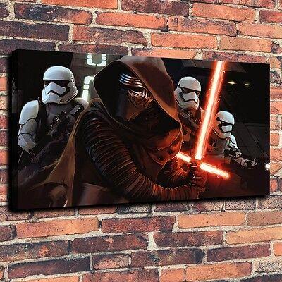 Art QUALITY CANVAS PRINT Cool Star Wars Best Wall Decor war