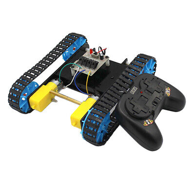 Diy Tank Chassis Track Crawler Remote Controller For Arduino Learning Kits