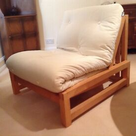 Futon Shop single bed/chair Excellent condition, barely used, very comfortable.