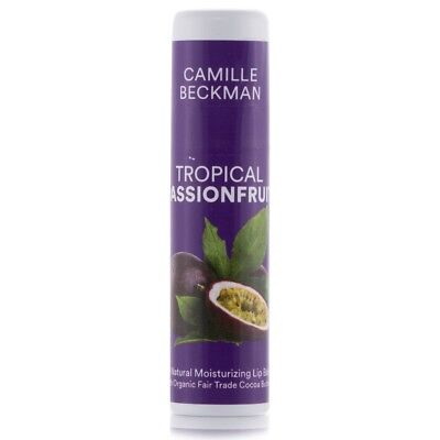 Tropics Natural Cocoa (Camille Beckman All Natural Cocoa Butter Lip Balm Tropical Passionfruit, .25 oz  )