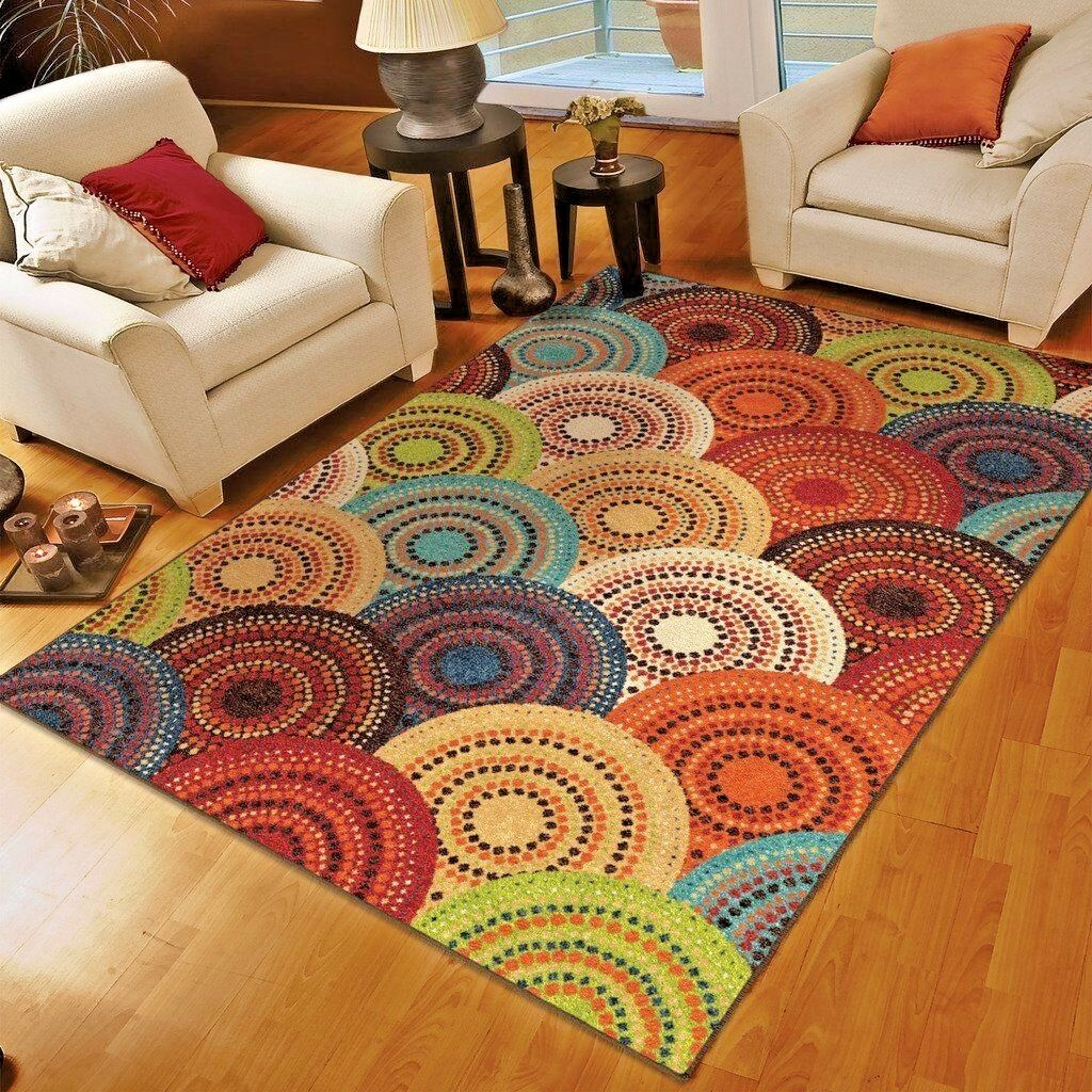 rug contemporary geometric room products living decorative accent colorful area rugs modern carpet affordable
