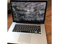 "Mac Book Pro 15"" Retina Display (First generation; August 2012); Serviced Dec 2015"
