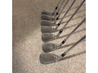 Md gold icon gold clubs full set irons