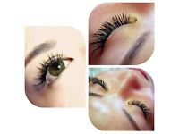 individual eyelash extension full set £45
