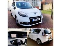 Renault Scenic TomTom, 1.5 Diesel, 2012, 1 Owner, Full Service History, £20 Tax, Bluetooth, Leather