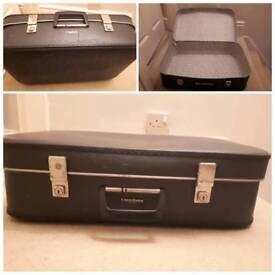Vintage constellation suitcase