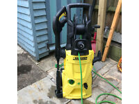 Karcher K4 Premium ecologic pressure washer + accessories