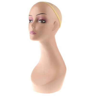 Female Plastic Mannequin Head Wig Hat Earrings Necklace Scalf Display Stand