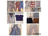 Bulk buy baby boys clothes 6-9 months