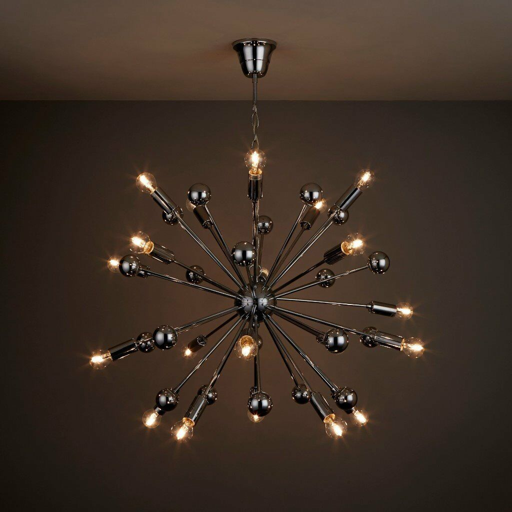 Sputnik style comet spherule ceiling light chrome effect rrp 132 sputnik style comet spherule ceiling light chrome effect rrp 132 in bq now mozeypictures Image collections