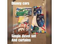 Disney cars single duvet set