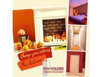 Painter & Decorator- let us change your colours this Autumn!