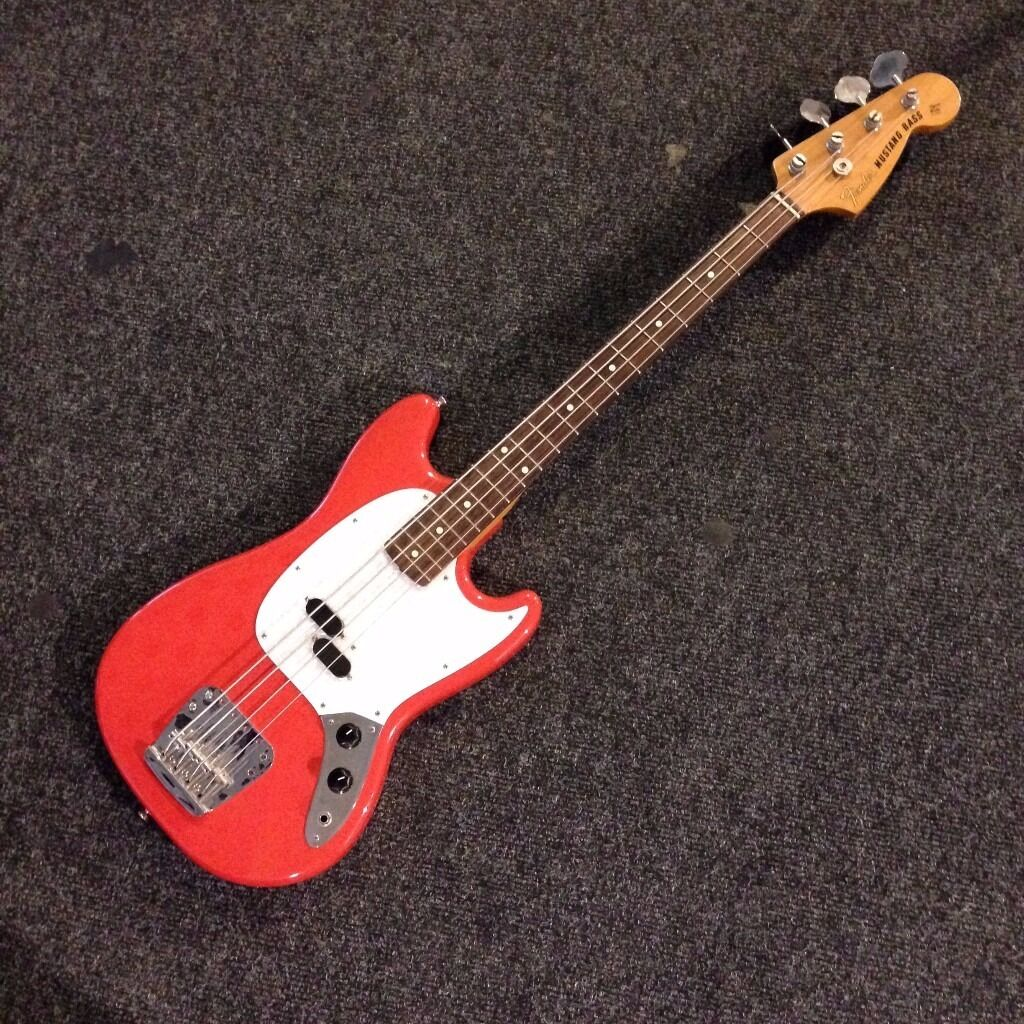 fender mustang bass made in japan 2004 2005 reissue in hoxton london gumtree. Black Bedroom Furniture Sets. Home Design Ideas