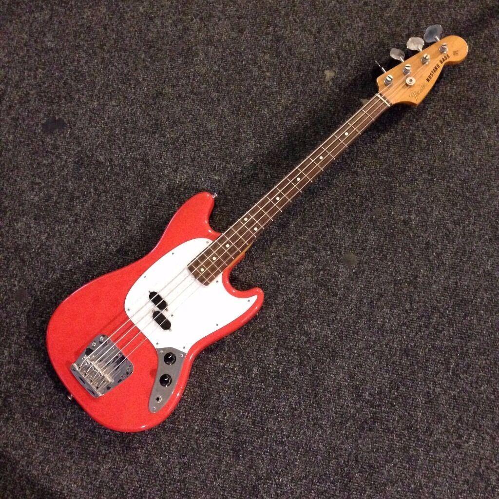 Fender Mustang Bass - made in Japan 2004/2005 reissue | in ...  Fender Mustang ...
