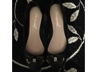 Brand new womens black dolly shoes