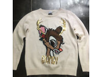 christmas jumper size (m) 12