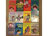 Collection of Horrid Henry books, Christmas gift