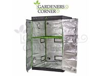 Hydroponics Propagation Green Box Grow Tent with Shelf 120cm x 120cm x 200cm
