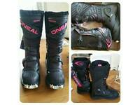 Women's O'neal motocross boots