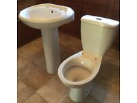 Toilet and sink. 5yrs old. Immaculate.