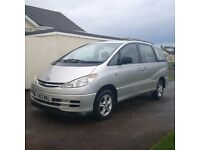 Toyota Previa MPV 2.4 petrol automatic 8 seater MOT July - spares or repair starts and drives