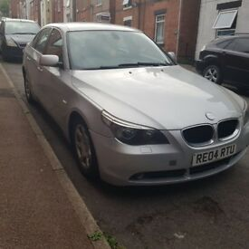 BMW E60 525d diesel, manual