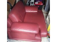2 seater leather couch for sale