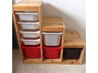 IKEA kids storage unit with drawers £40