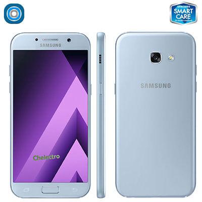 "SAMSUNG Galaxy A5 2017 SM-A520W GSM Unlocked 5.2"" 32GB Single Sim, Blue Mist for sale  Shipping to India"