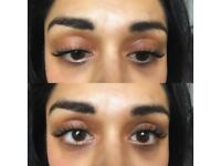 Semi permanent lashes / Russian 3D Volume Lashes