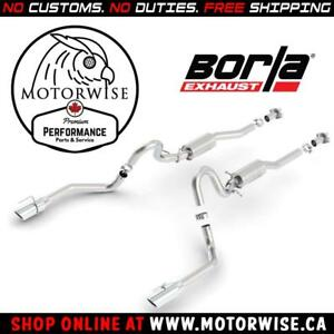 Borla ATAK Catback Exhaust System | 1999 to 2004 Ford Mustang GT | Shop & Order Online at motorwise.ca