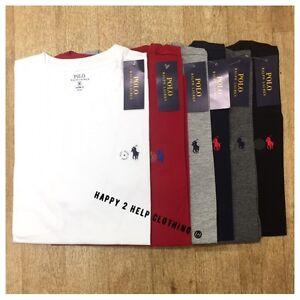 Polo-Ralph-Lauren-Men-039-s-Short-Sleeve-Crew-Neck-T-Shirt