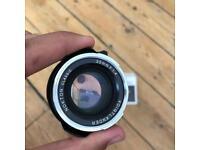 Voigtlander Leica 35mm F1.4 Nokton Classic lens box as new