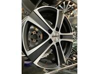 "16"" calibre alloy wheels alloys rims tyres 5x114 Renault traffic fiat Ducato vauxhall mavano vivaro"