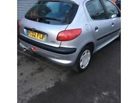 Peugeot 206 very cheap 2002 £350ono