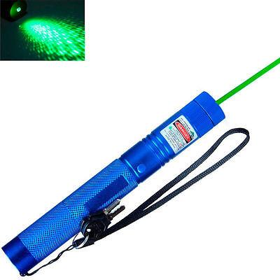 High Power 30 Miles Range 532nm Green Laser Pointer Light Lazer Pen Visible Beam