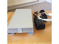G-Technology G-DRIVE USB 3.0 E-sata, firewire 4TB Silver