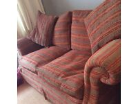 Two used two seater sofa's