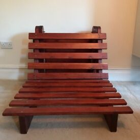 3ft wide Single Futon base must be sold before 24 April